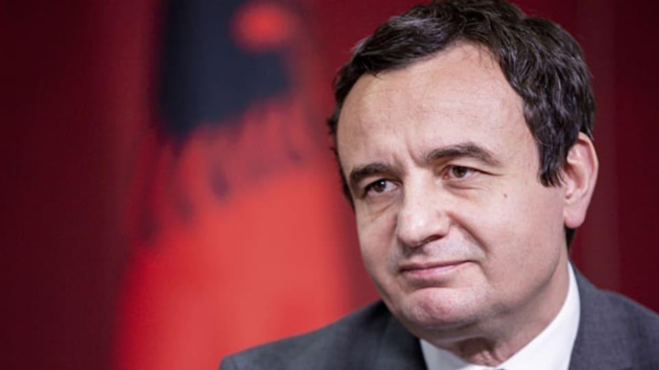 Der kosovarische Regierungschef Albin Kurti.