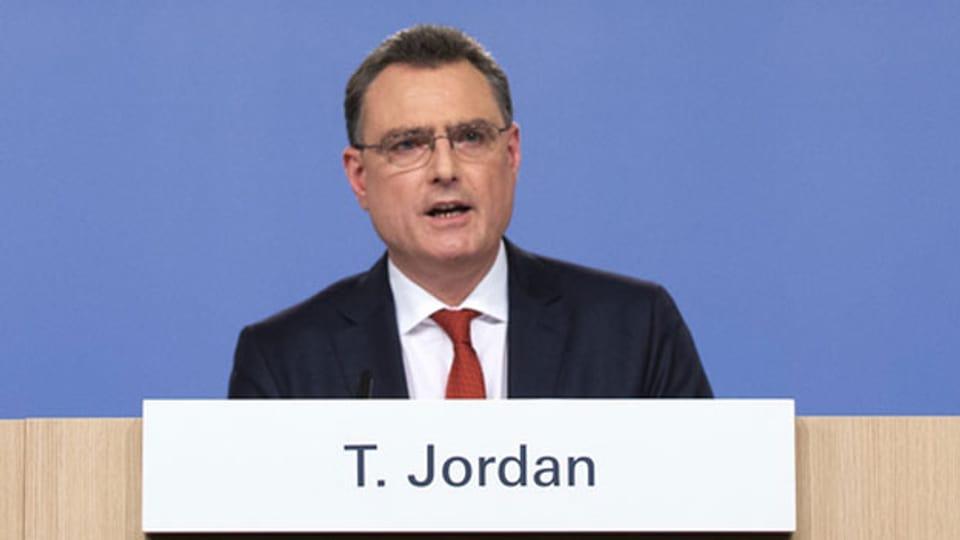 Thomas Jordan, Präsident der Schweizerischen Nationalbank SNB.