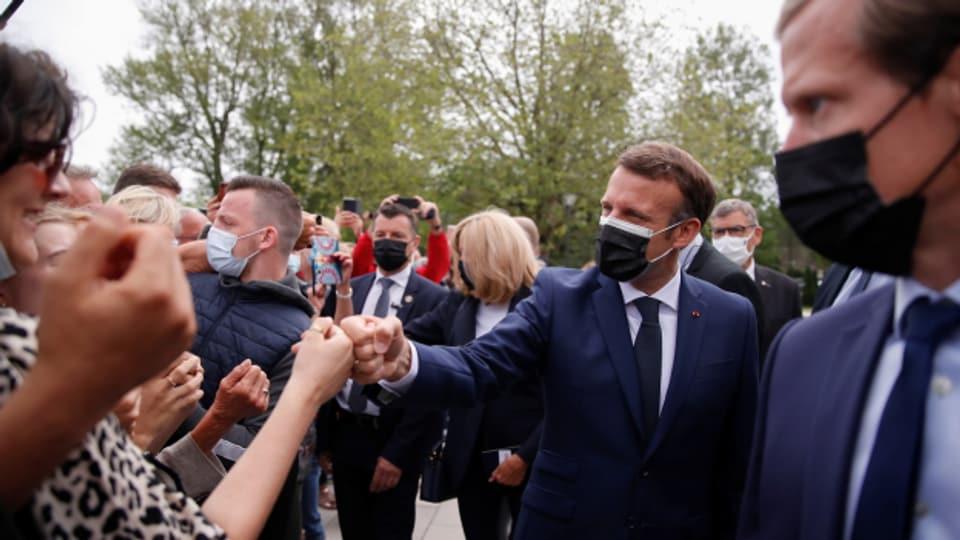 Verliert an Zustimmung: Die Partei von Frankreichs Präsident Macron schneidet an Regionalwahlen enttäuschend ab.