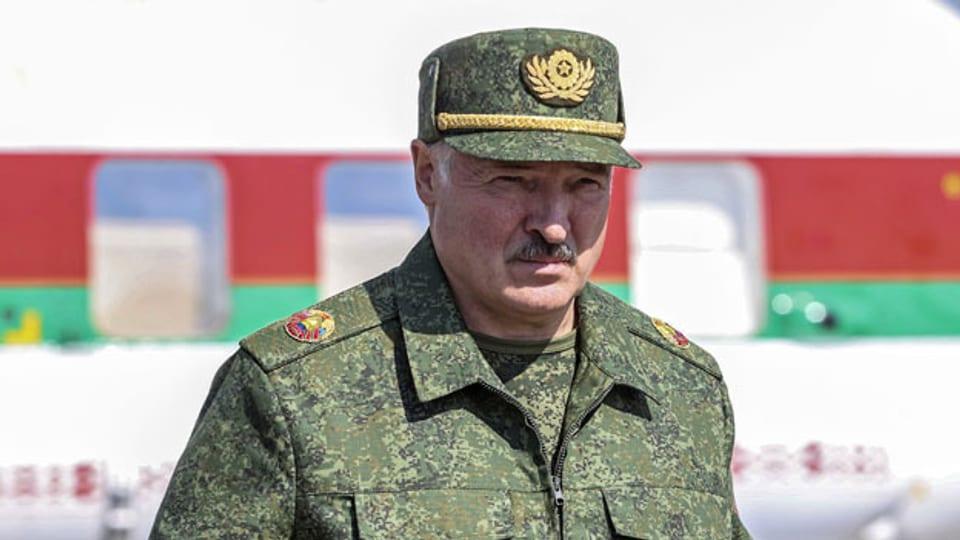 Der belarussische Machthaber Alexander Lukaschenko.