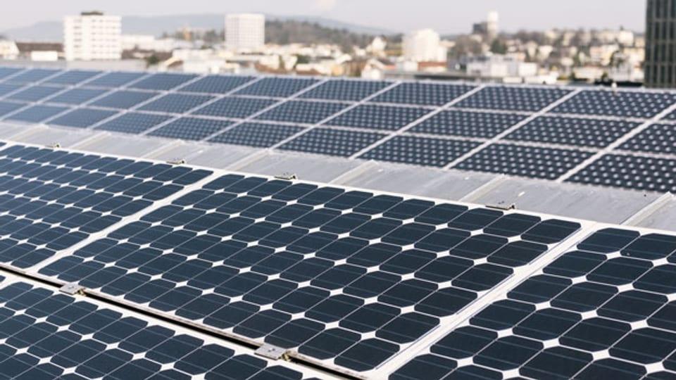 Aufbruchstimmung beim Ausbau von Solaranlagen. Symbolbild.
