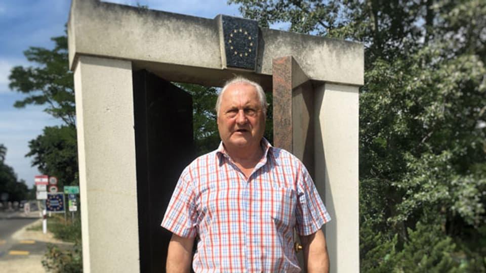 Arpad Bella lebt als Pensionär in einem Dorf im Westen Ungarns.