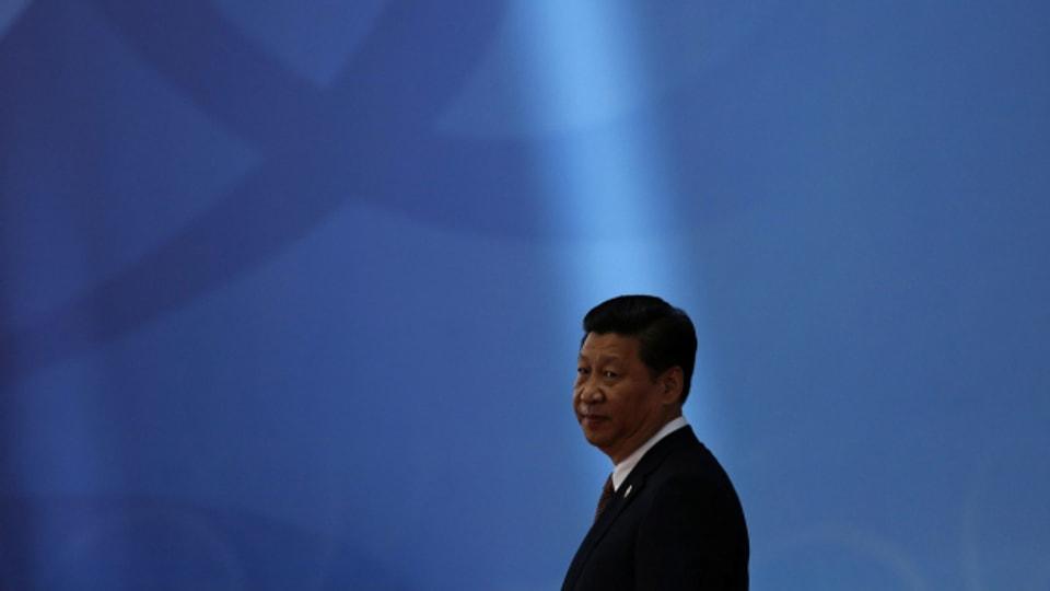 Chinas Präsident Xi Jinping besucht Tibet.
