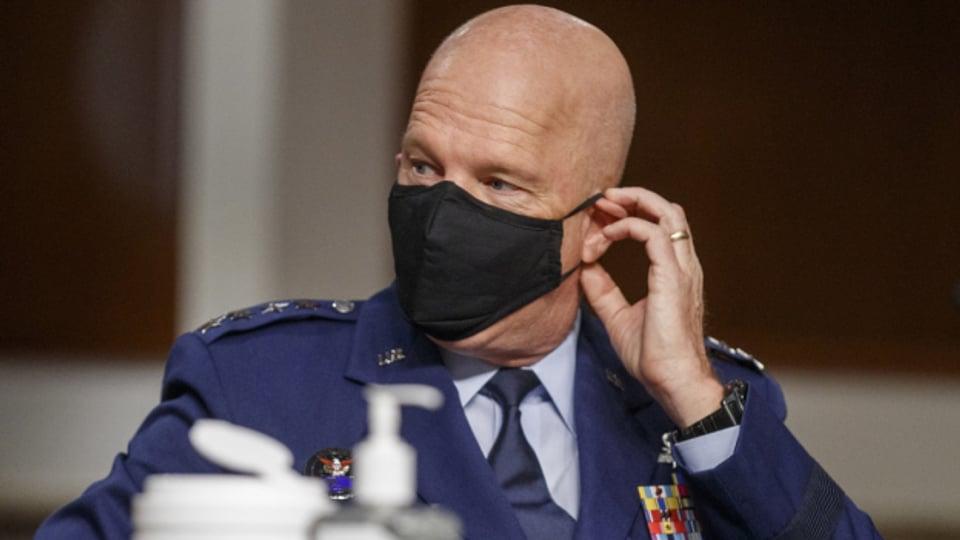 Chef der US-Weltallstreitkräfte: General John Raymond, im Mai 2020.