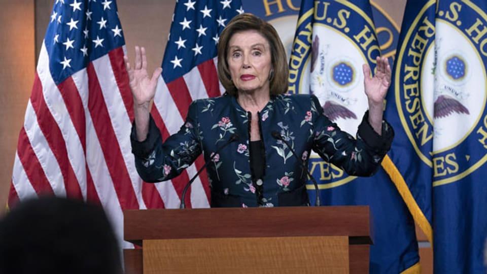 Nancy Pelosi, Vorsitzende des Repräsentantenhauses.