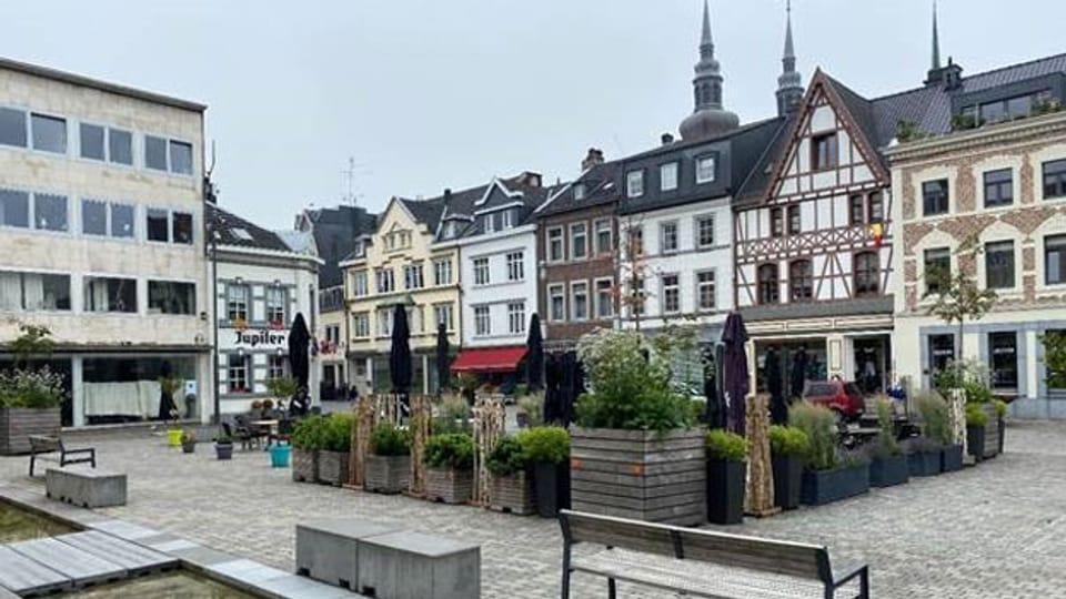 Das beschauliche Eupen – Hauptstadt der deutschen Sprachgemeinschaft in Belgien.