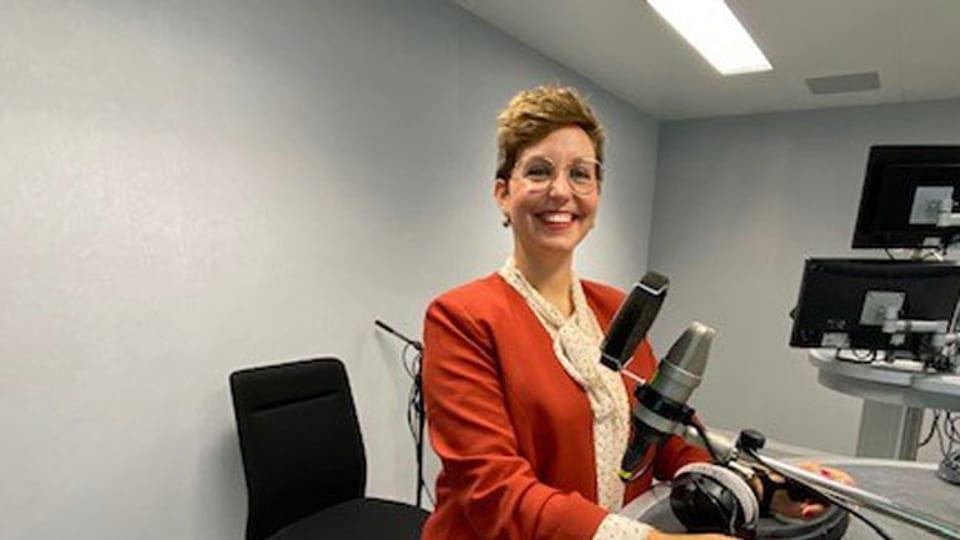 Die Politikwissenschaftlerin Leandra Bias im Gespräch mit Anita Richner.