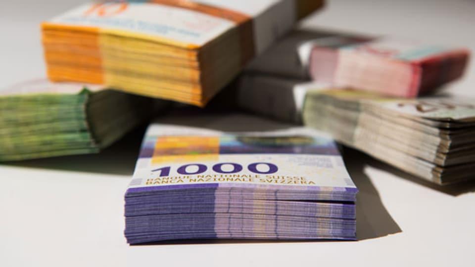 Ständerat lehnt Maximallöhne bei Bundesbetrieben ab. Symbolbild.