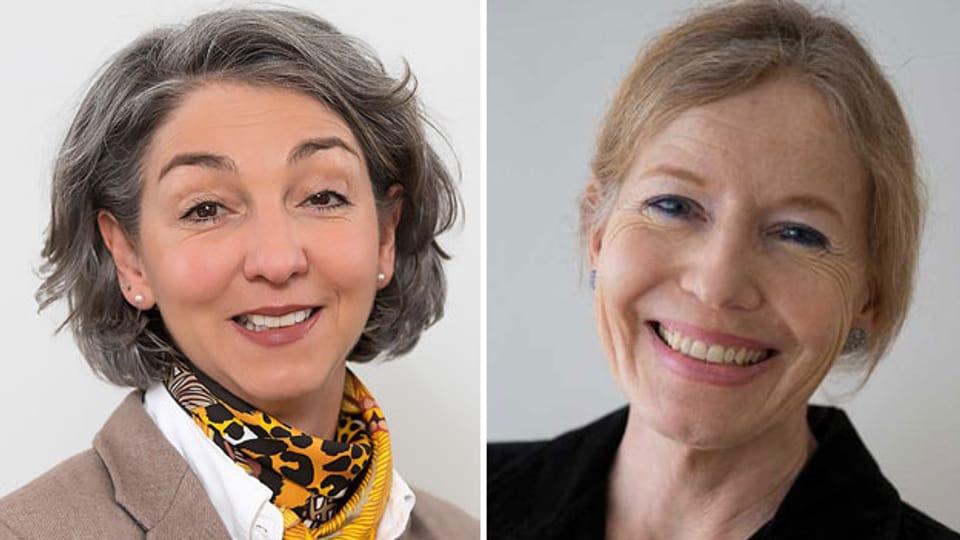 Stefanie Becker (links) und Margrit Leuthold.