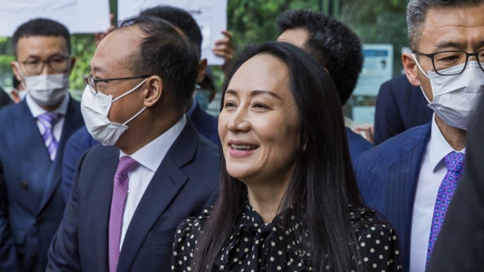 Wanzhou Meng verlässt nach drei Jahren im Hausarrest Kanada in Richtung China.