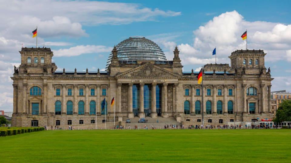Der Bundestag in Deutschland.