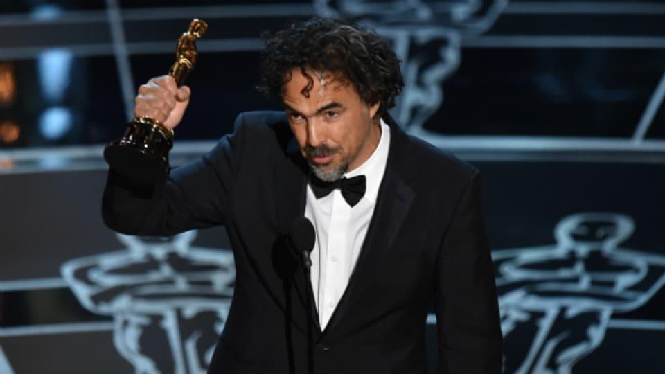 Der grosse Gewinner der Oscar-Nacht: Alejandro G. Inarritu, Regisseur des Films «Birdman».