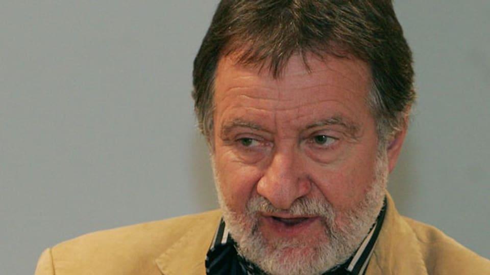 Peter Gehr, emeritierter Professor für Anatomie an der Universität Bern. Archiv.
