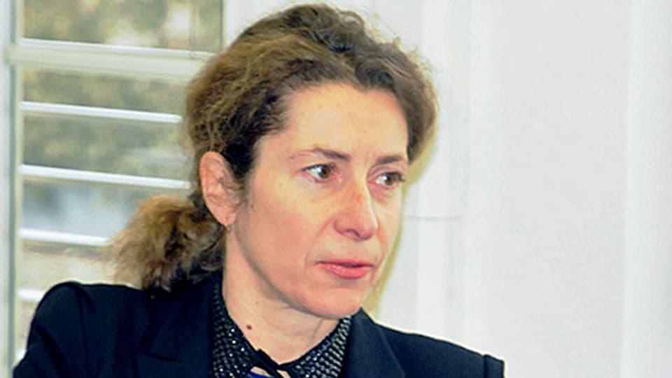 OSZE-Botschafterin Heidi Grau.