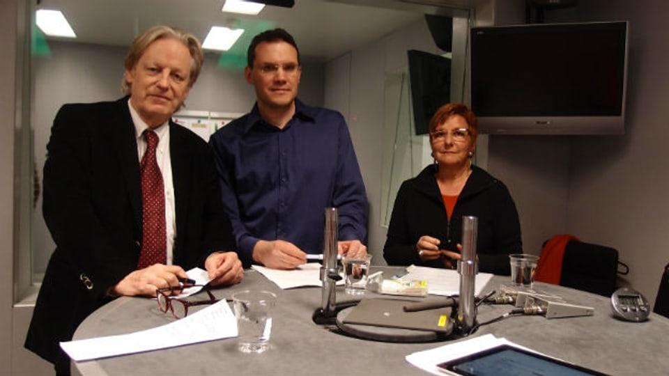 Die Freitagsrunde debattiert über Würde, Transparenz und Moral in der Politik.
