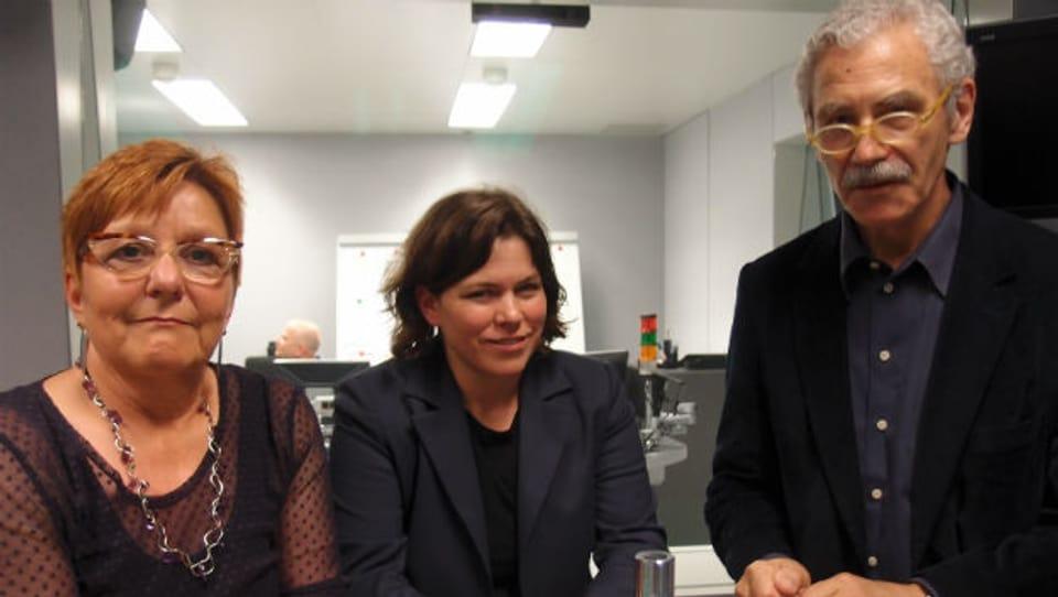 Cécile Bühlmann, Michelle Beyeler, Oswald Sigg