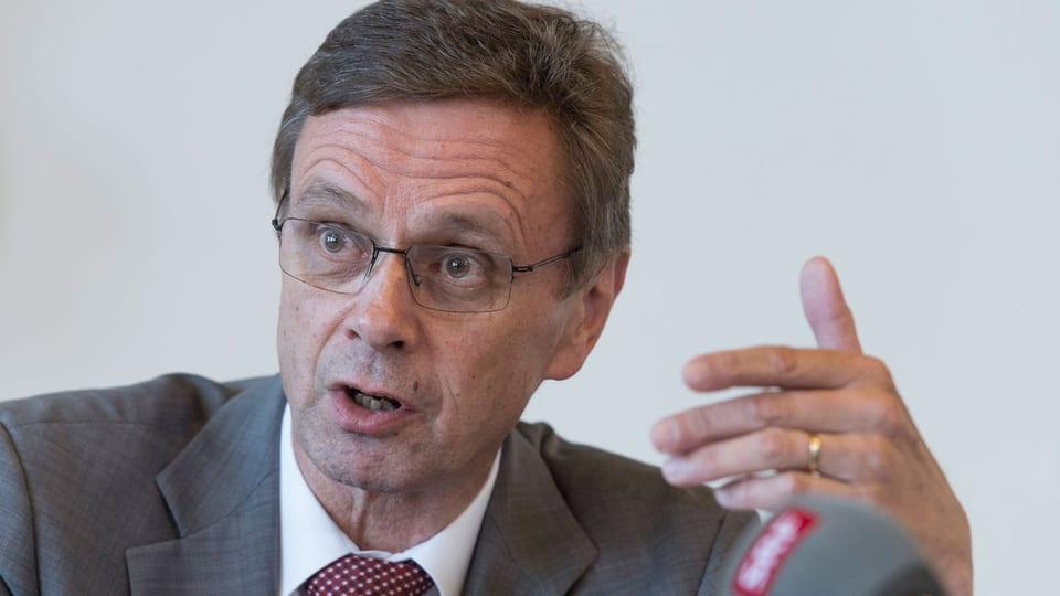 Hans-Jürg Käser, Präsident aller Polizeidirektoren der Schweiz und Berner Regierungsrat