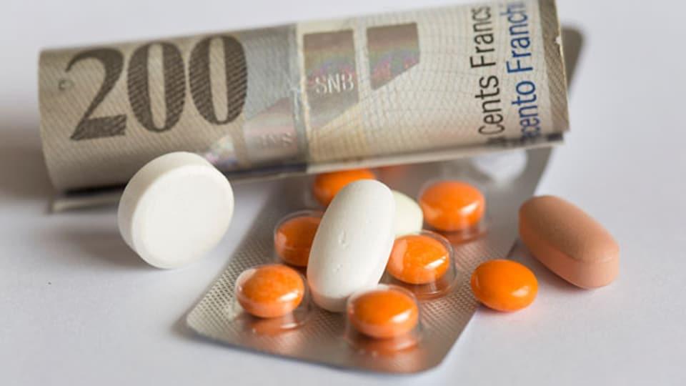 Der Euro ist um 15 Prozent in den letzten Wochen gesunken, aber die Preise für Medikamente aus dem Euroraum bewegen sich nicht.