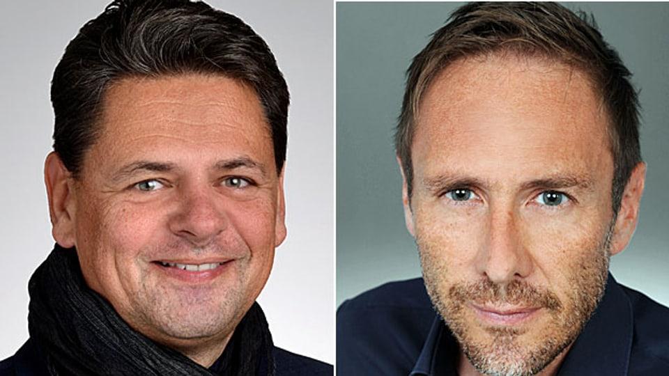 Adrian Vatter und Markus Freitag.
