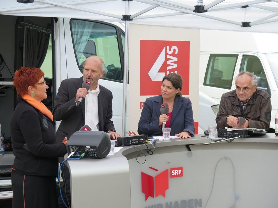 Cécile Bühlmann, Max Akermann, Michelle Beyeler, Bernd Schildger