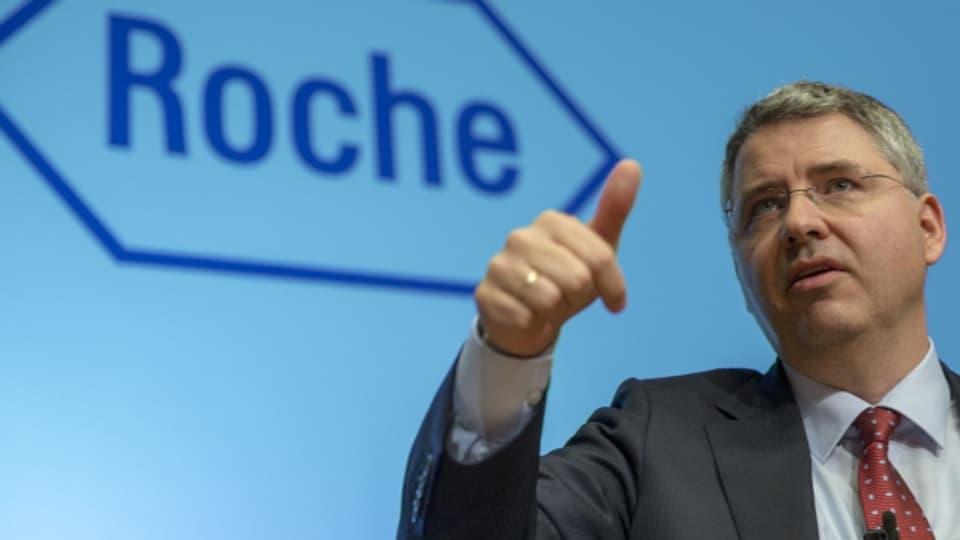 Roche präsentiert das Jahresergebnis.