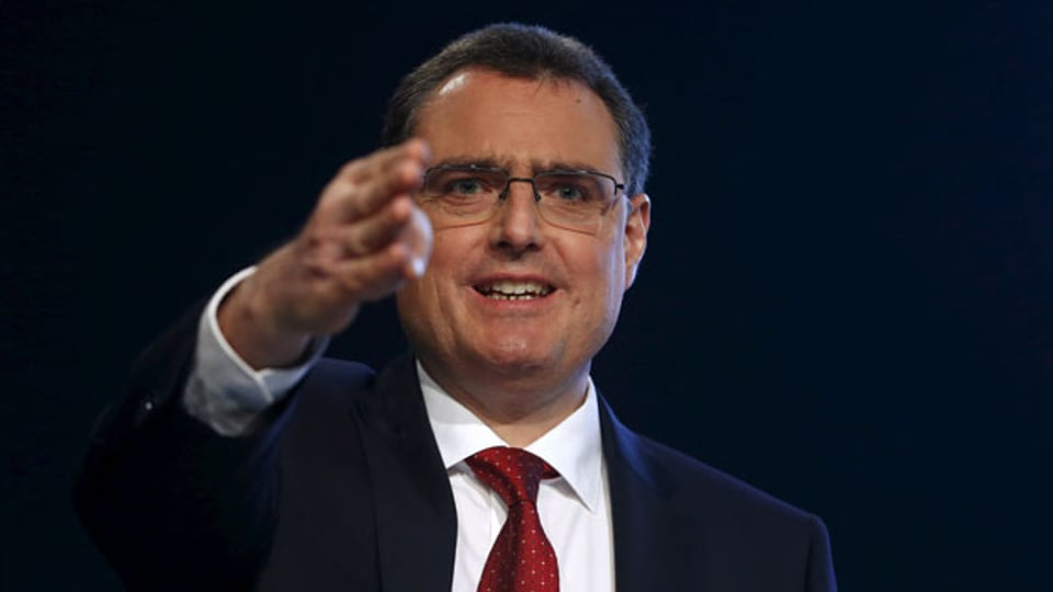 Thomas Jordan, Chef der Schweizerischen Nationalbank.