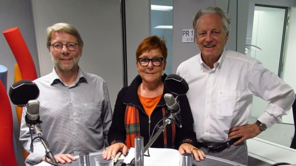 Daniele Piazza, Cécile Bühlmann, Thomas Held (v.l.n.r.)