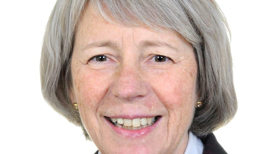 Christine Fasser, Präsidentin von Retina International und Vize-Präsidentin von Pro Raris.