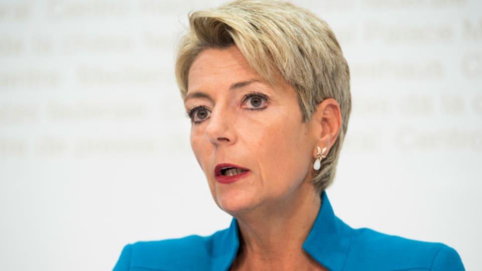Karin Keller-Sutter, Ständerätin FDP.