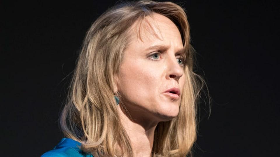Seraina Rohrer, Direktorin der Solothurner Filmtage, spricht anlässlich der Eröffnung der 53. Solothurner Filmtage, am 25. Januar 2018.