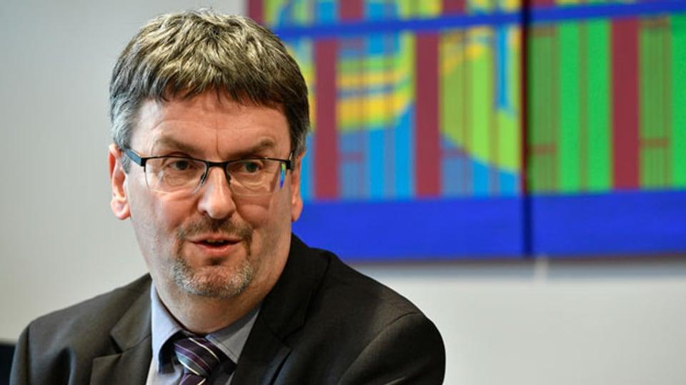 Peter Füglistaler, Direktor des Bundesamtes für Verkehr BAV.