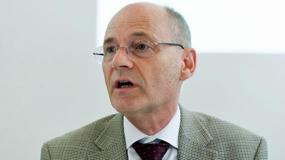Stefan Blättler, oberster Schweizer Polizeioffizier. Aufnahme von 2017.