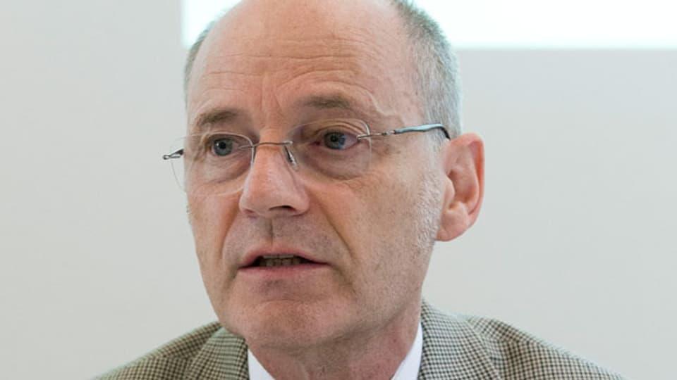 Stefan Blättler, Präsident der Schweizer Polizeikommandanten.