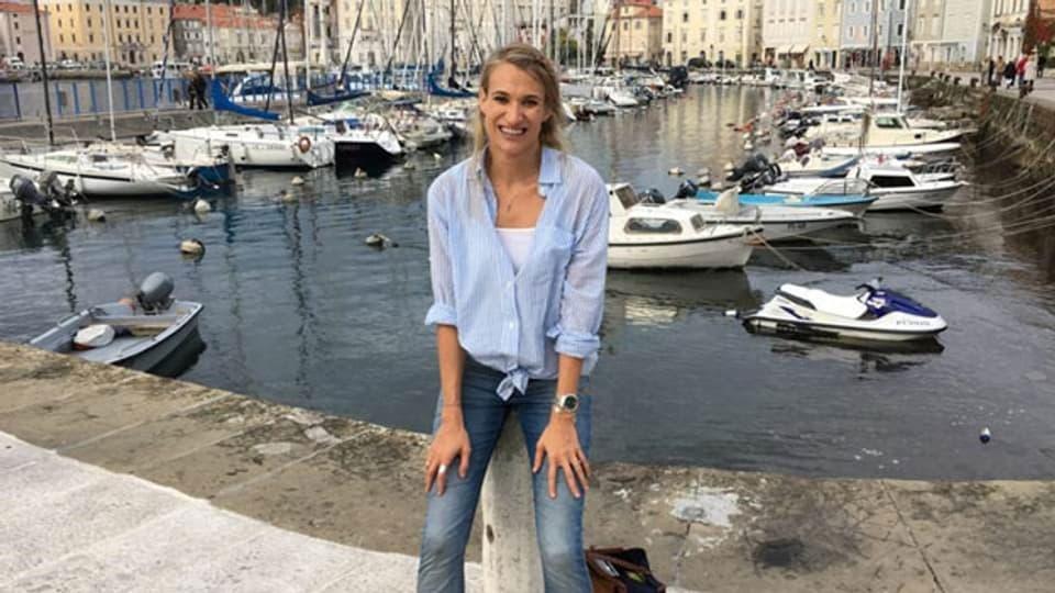 Fabienne McLellan, Schweizer Umweltschützerin.