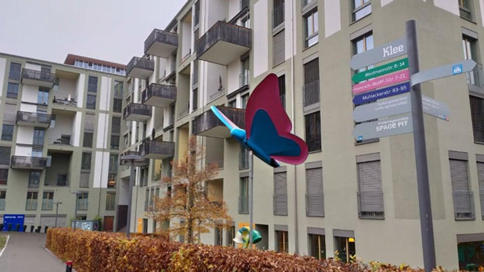 Fallstudie der Klee-Siedlung in Zürich. Vergleich der verschiedenen Lüftungssysteme.