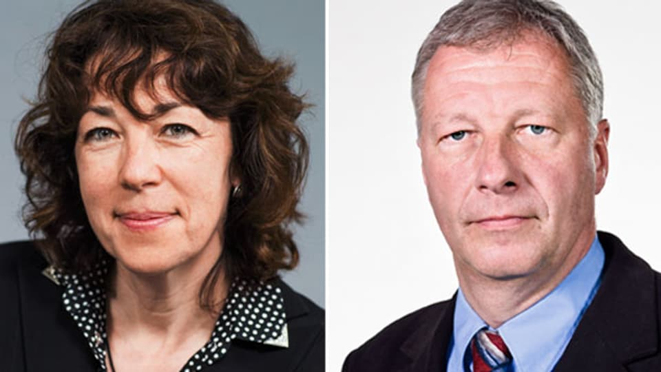 Susanne Brunner und Fredy Gsteiger.