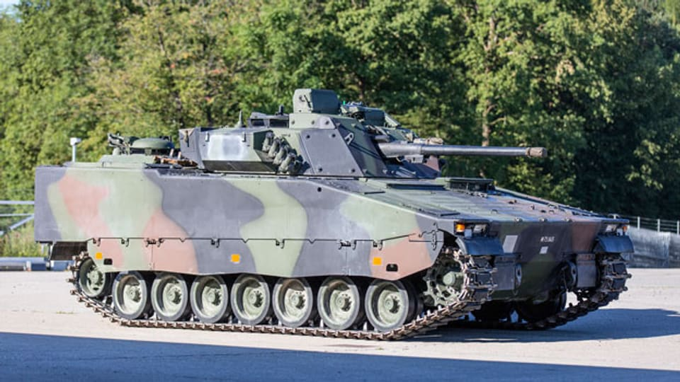 Ein Schützenpanzer 2000 der Schweizer Armee.