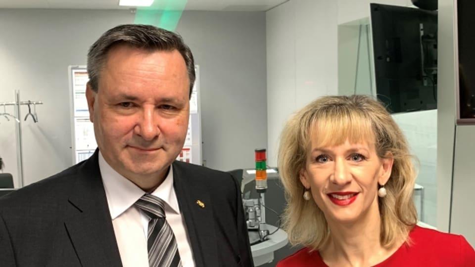 Priska Seiler-Graf (SP) und Werner Salzmann (SVP) zu Gast im Politikum