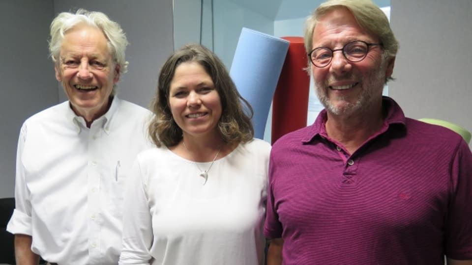 Thomas Held, Michelle Beyeler und Daniele Piazza (von links).