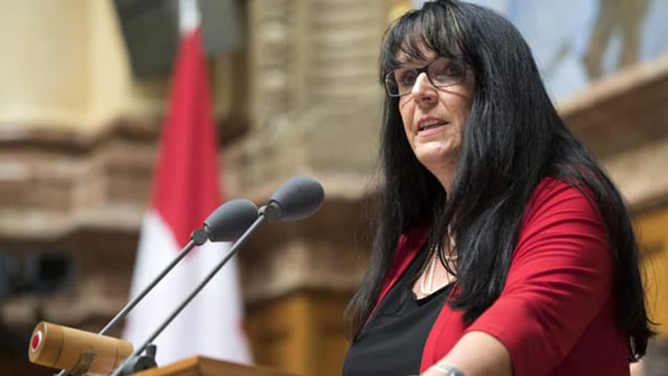 MarIanne Streiff, Präsidentin der Evangelischen Volkspartei, EVP.
