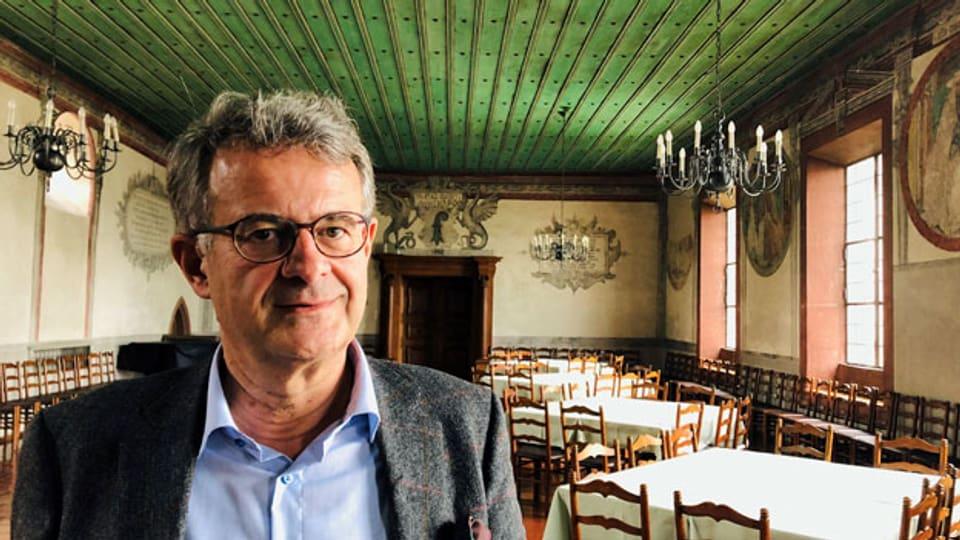 Wolfgang Zehetner ist Dombaumeister des Wiener Stephansdoms.