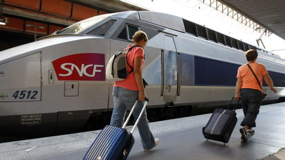 TGV versus Air France.