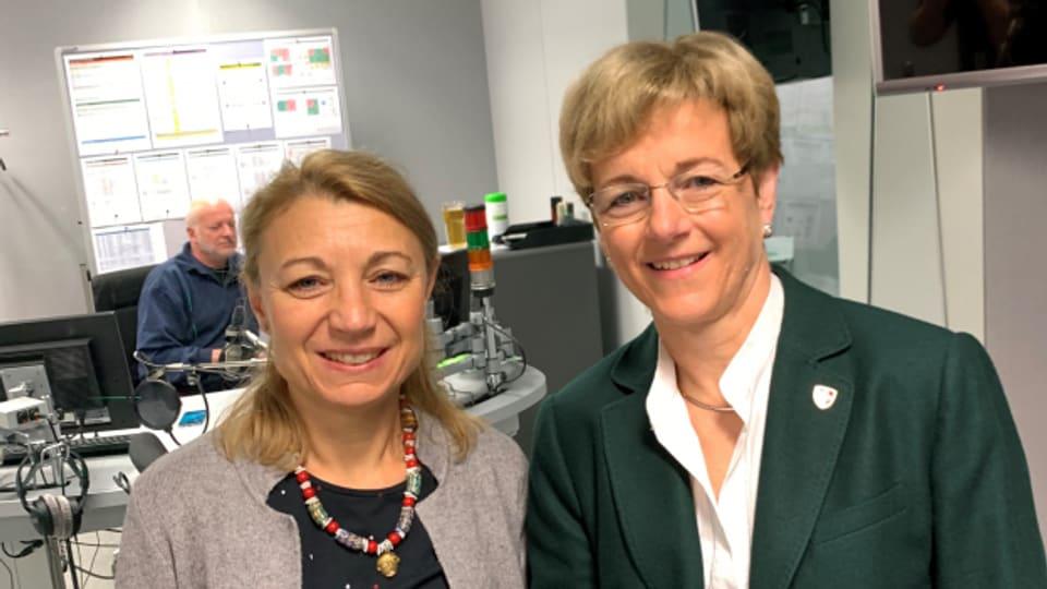 Ja oder Nein zu Pilotversuchen mit Cannabis? Darüber diskutieren Yvonne Feri (SP) und Verena Herzog (SVP).