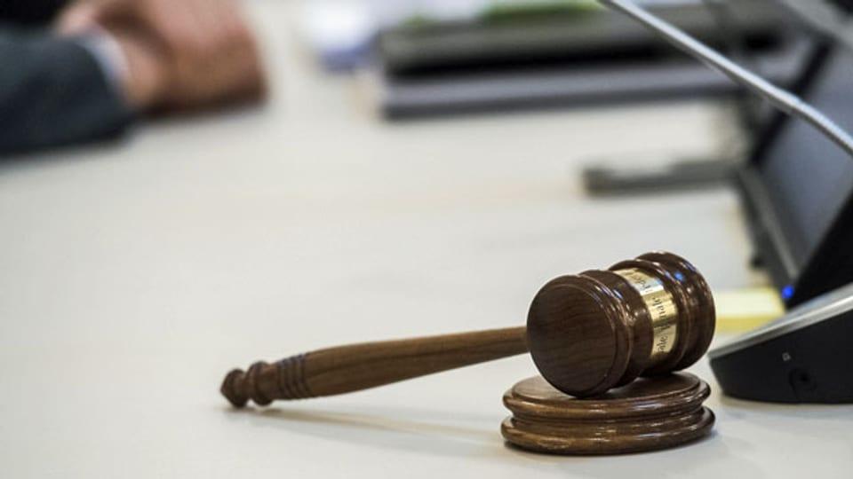 Der Richterhammer des Bundesstrafgerichts.