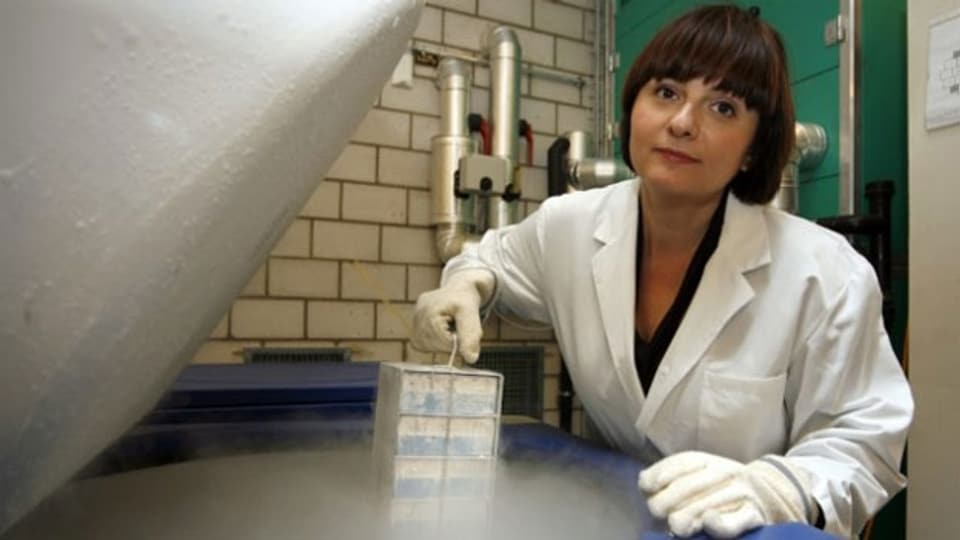 Die Virologin Alexandra Trkola.