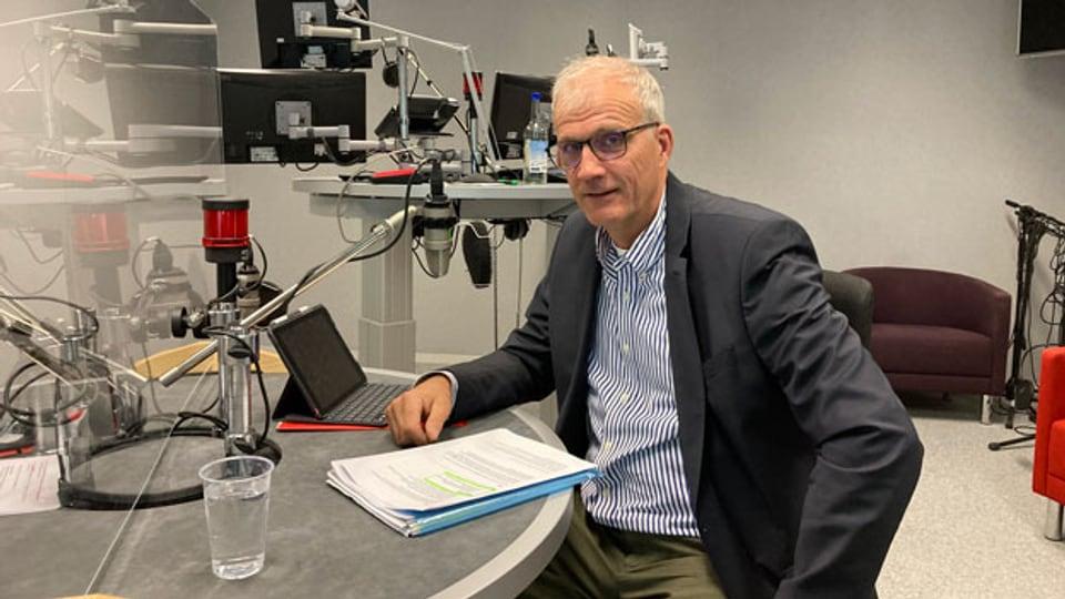 Hans Wyss, Direktor des Bundesamtes für für Lebensmittelsicherheit und Veterinärwesen.