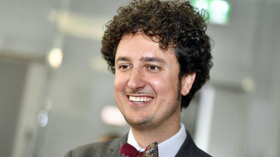 Nicola Forster, der neue Präsident der Schweizerischen Gemeinnützige Gesellschaft.
