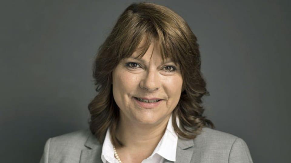 Verena Nold, Direktorin des Kassen-Verbands Santésuisse.