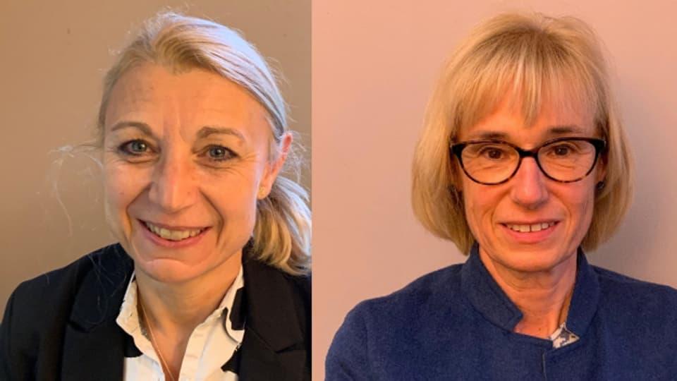 Yvonne Feri (SP) und Ruth Humbel (Mitte)