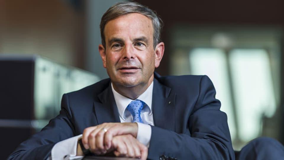 Gerhard Pfister, Präsident der Mitte-Partei.